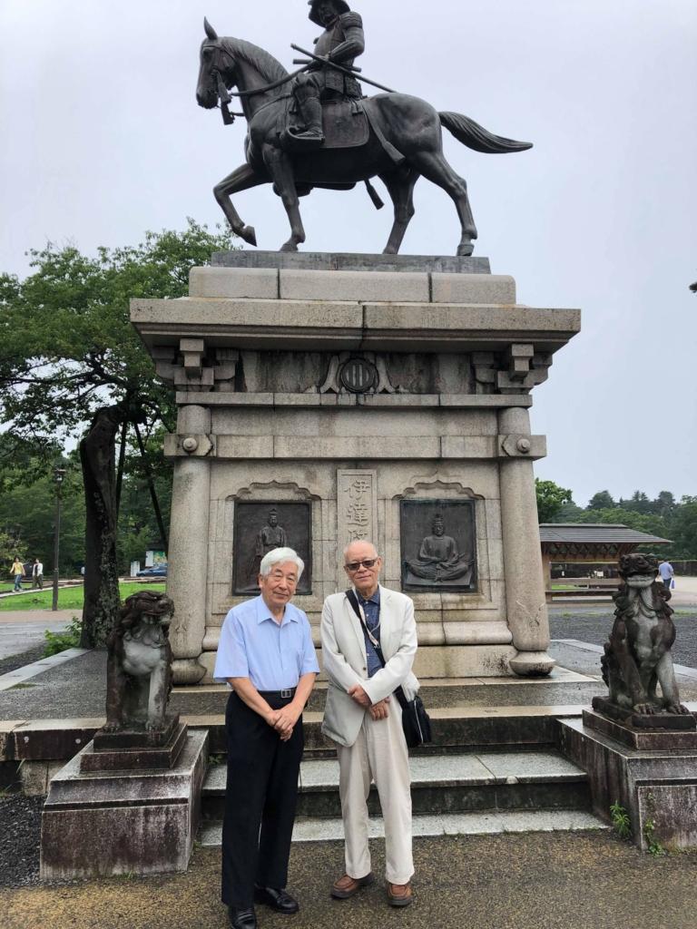 7月 小旅行 報告⑤  「仙台城址」=伊達政宗